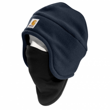 Load image into Gallery viewer, Carhartt A202 Men's warm fleece hat with attached face mask.