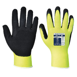 Hi-Vis Grip Glove - Latex Foam<br>A340