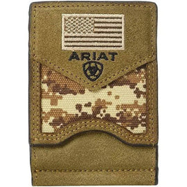 Digital Camo Bifold Money Clip<br>Ariat A3536944