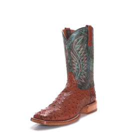Ariat 10034113 Gallup Turquoise Full Quill Ostrich Boot