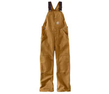 Load image into Gallery viewer, Carhartt CM8601 D15 Classic Duck Washed Bib Overalls