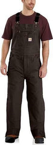 Carhartt 104031 Quilt Lined Washed Duck Bib Overalls