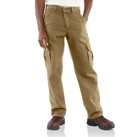 Carhartt FRB420 GKH Flame-Resistant Canvas Cargo Pant, Golden Khaki