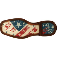 Load image into Gallery viewer, LADY REBEL™ WOMEN'S DISTRESSED FLAG EMBROIDERY WESTERN BOOT Durango DRD0394