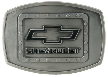 Chevrolet Silver Antique Belt Buckle<br>Western Express JD-118