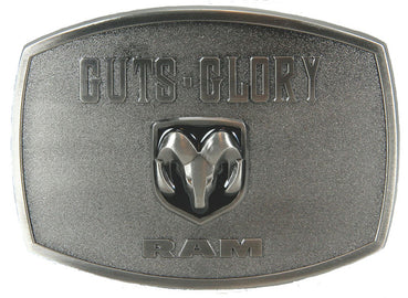 Guts Glory Ram Belt Buckle<br>Western Express JD-122