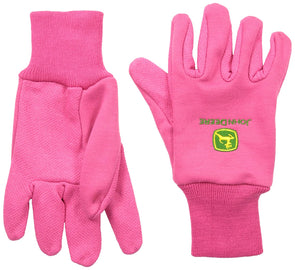 Cotton Jersey Light-Duty Grip Gloves<br>John Deere JD00003
