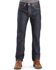 Levi's 505-0216 505™ Regular Fit Straight Leg Jeans, Dark Wash