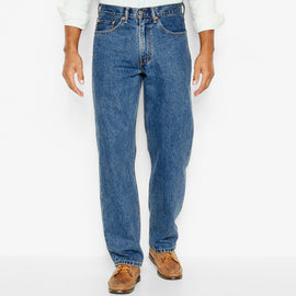 Levi's 550-4891 550™ Relaxed Fit Jeans, Medium Stonewash