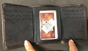 Brown Xtreme Trifold Leather Wallet<br>HD Extreme N6310802