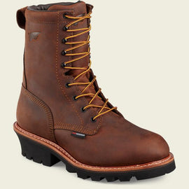Red Wing 620 Loggermax Men's 9 Inch Soft Toe Logger Work Boot