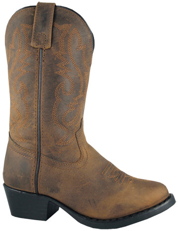 Denver Oiled Distressed Western Boot<br>Smoky Mountain 3034
