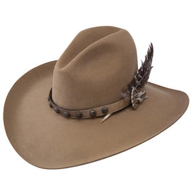 Stetson SBBBOW-6943 Broken Bow 4X Tan Buffalo Felt Hat