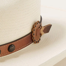 Load image into Gallery viewer, Stetson SSBBOW-954481 Broken Bow 10X Natural Straw Cowboy Hat