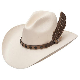 Stetson SSBBOW-954481 Broken Bow 10X Natural Straw Cowboy Hat