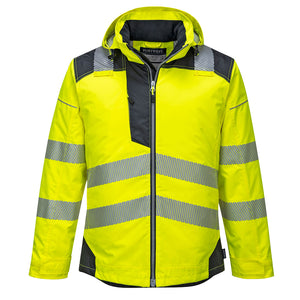 Hi-Vis ANSI 3 Winter Reflective Coat<br>Portwest T400YBR