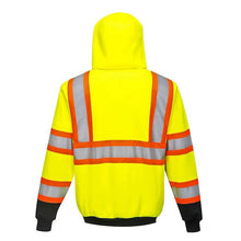Load image into Gallery viewer, Kansas Hi-Vis Full-Zip Hoody<br>Portwest UB316YBR