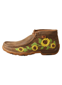 Twisted X WDM0128 Women's Chukka Driving Sunflower Moc