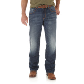 Wrangler WRT20JH Wrangler Retro® Relaxed Boot Cut Jeans in JH Wash
