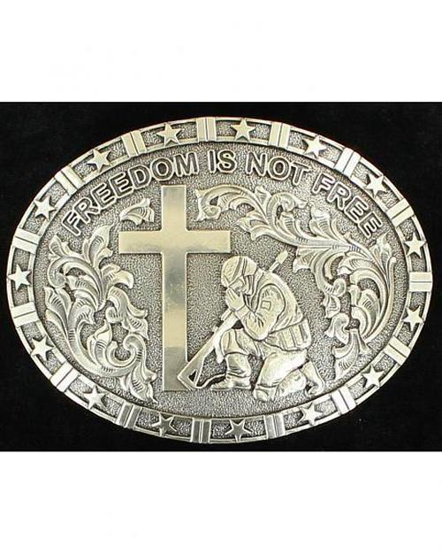 Praying Soldier Belt Buckle<br>M&F 37985
