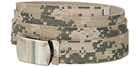 Baron Belts 4002BP6CAMO Canvas Digital Camo Web Belt