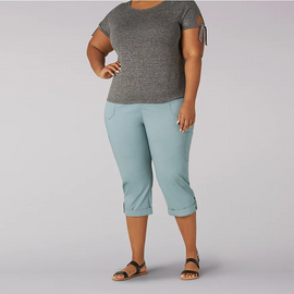 Cargo Capris, Plus Sizes<br>Lee 3198605