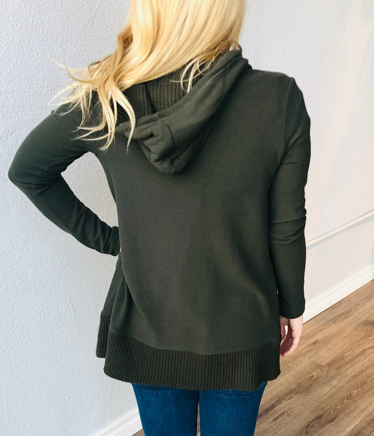 Thermal Lined Cardigan