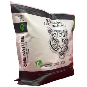 Proteina Orgánica One Nature 3kg (Vainilla, Chocolate, Mocha)
