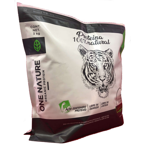 Proteina Orgánica One Nature 3kg (Vainilla, Chocolate, Mocha) - One Nature Organic