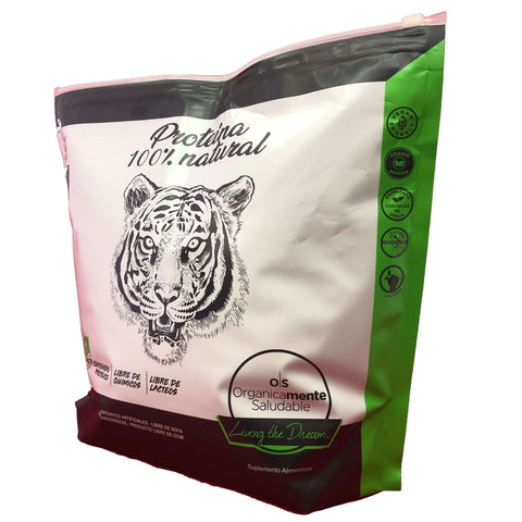 Image of Proteína orgánica One Nature Vainilla, Chocolate, Mocha – 3kg - One Nature Organic