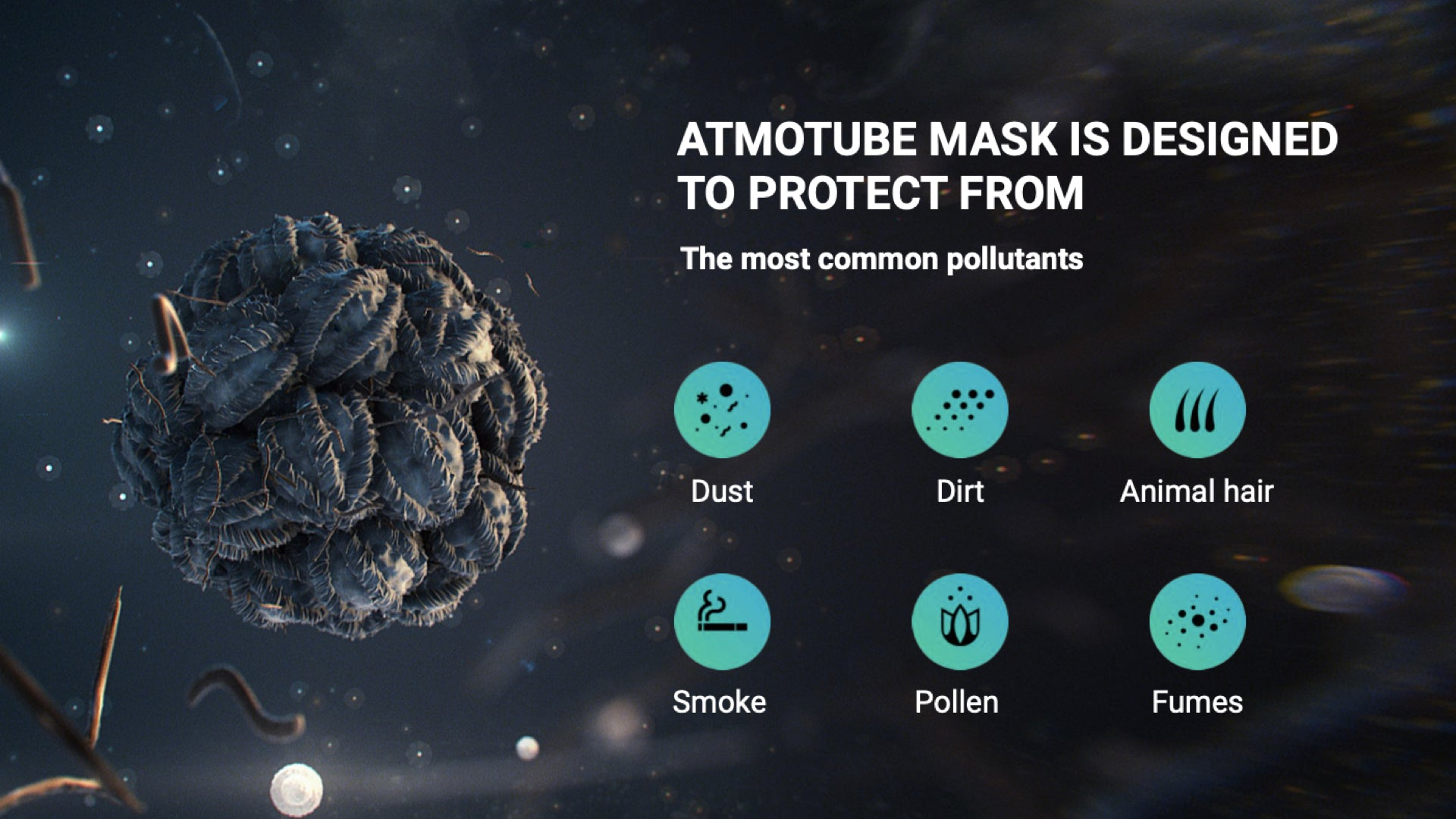 Atmotube Anti-Pollution Mask