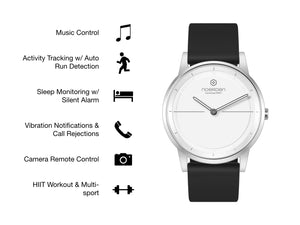 MATE2 Hybrid Smart Watch to Train Hands-Free
