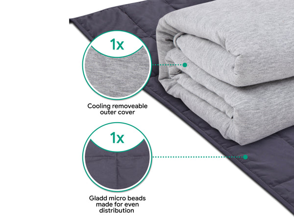 Hush Cooling Weighted Blanket