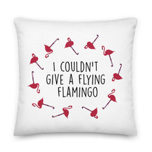 Load image into Gallery viewer, Flying Flamingo Premium Pillow