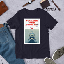 Load image into Gallery viewer, Brexit Shark Unisex T-Shirt
