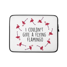 Load image into Gallery viewer, Flying Flamingo Laptop Sleeve