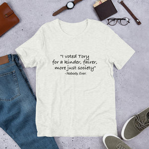 I Voted Tory Unisex T-Shirt