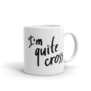I'm Cross about Brexit Mug