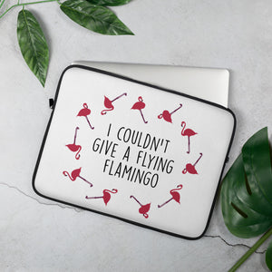 Flying Flamingo Laptop Sleeve