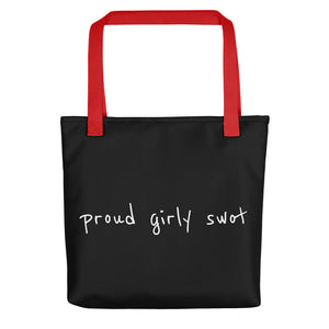 Proud Girly Swot Tote bag