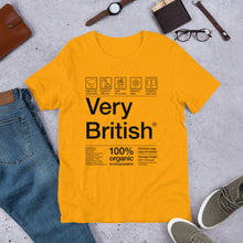 Load image into Gallery viewer, British Care Instructions Unisex T-Shirt