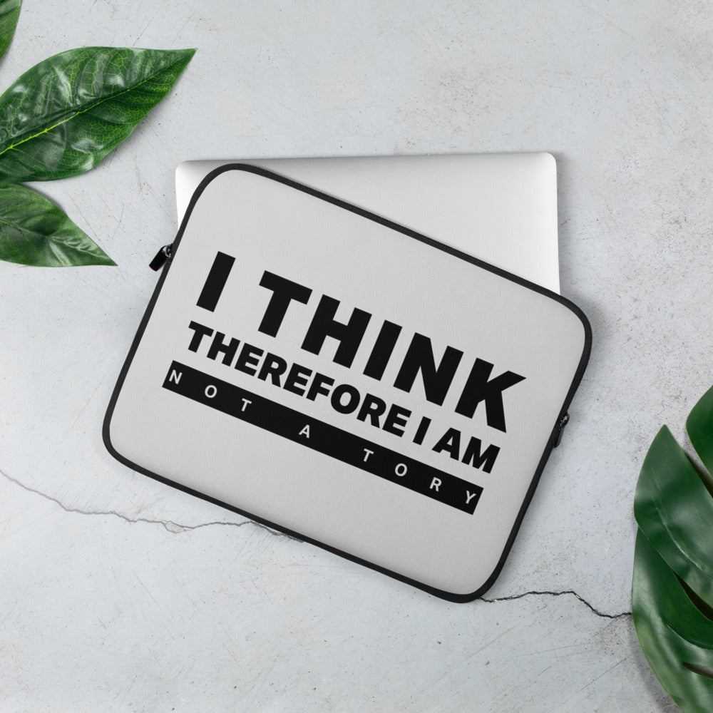 I Think Therefore I Am Laptop Sleeve