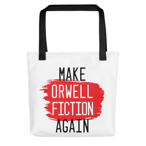 Make Orwell Fiction Tote bag