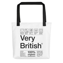 Load image into Gallery viewer, Very British Tote bag