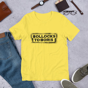 Bollocks to Boris Unisex T-Shirt