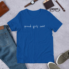 Load image into Gallery viewer, Proud Girly Swot Unisex T-Shirt