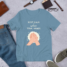 Load image into Gallery viewer, Keep Calm & Wash Your Hands Unisex T-Shirt