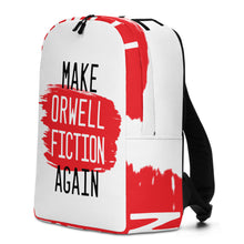 Load image into Gallery viewer, Make Orwell Fiction Minimalist Backpack