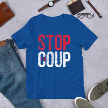 Load image into Gallery viewer, Stop the Coup Unisex T-Shirt