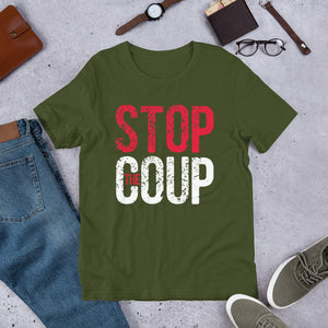 Stop the Coup Unisex T-Shirt